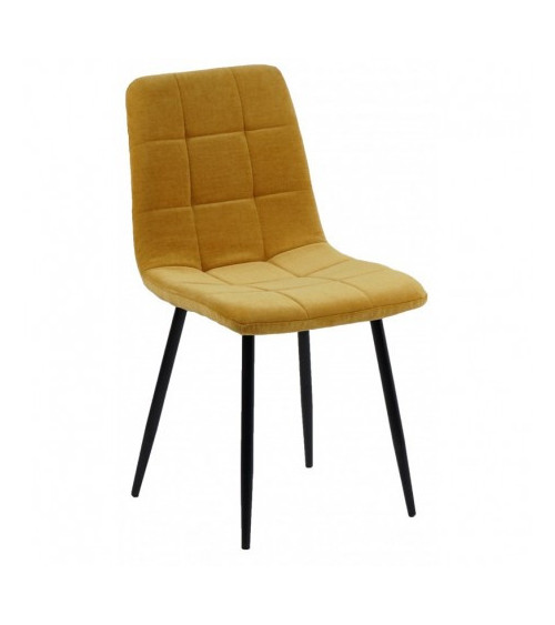Chaise MANTA moutarde